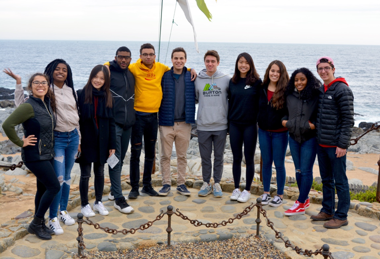 "Our Duke in Chile cohort from Summer 2018, nicknamed the ""Super Once,"" at one of Pabulo Neruda's homes. Neruda was a Nobel Prize-winning Chilean poet, diplomat, and politician."