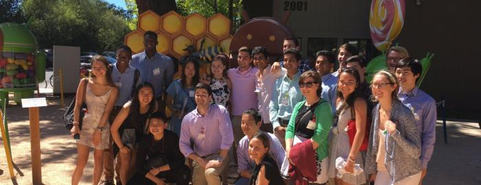 Photo of Duke in Silicon Valley 2016 cohort