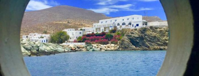 port of Folegandros
