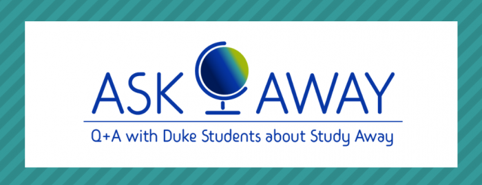 Ask Away Q and A with Duke students